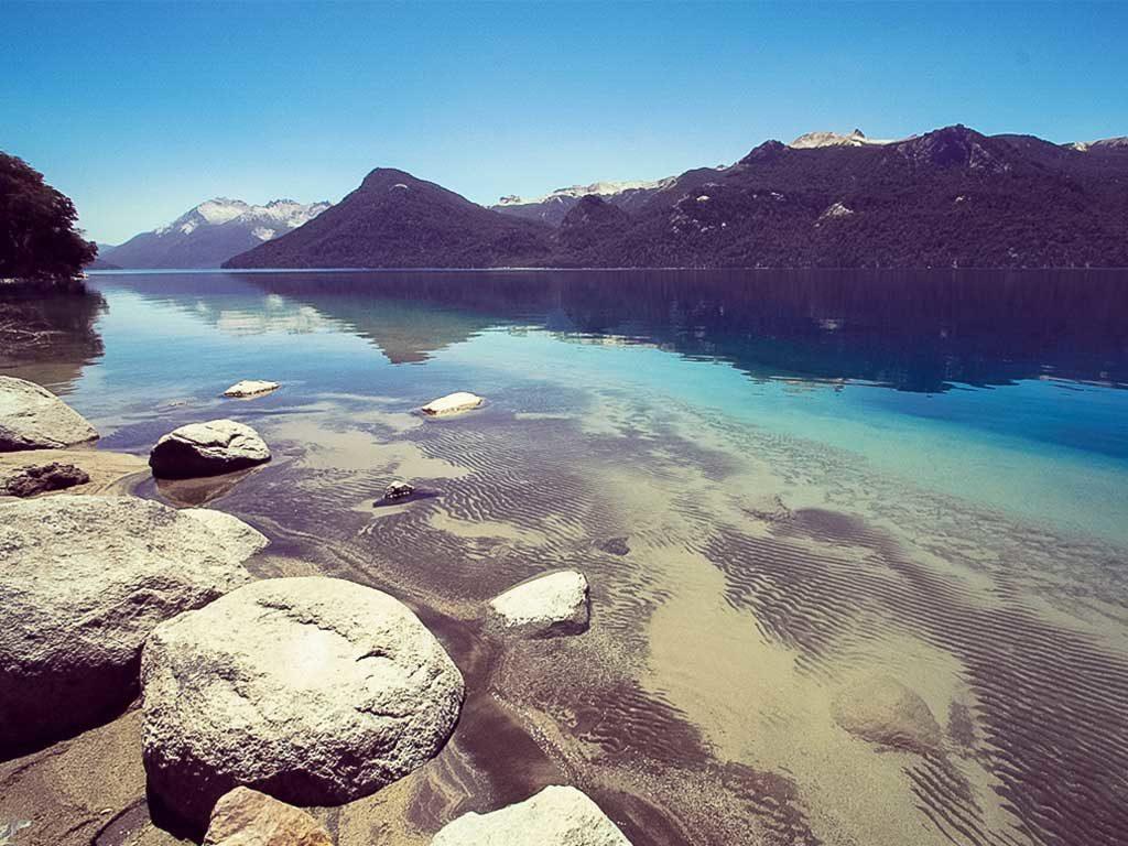Vista del Lago Traful