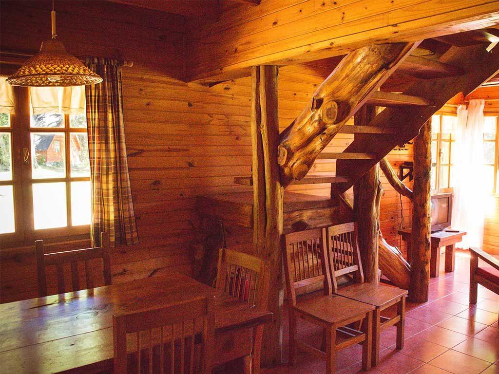 Cabaña para seis personas interior Aiken