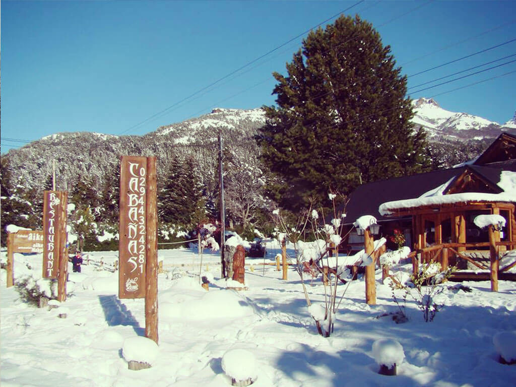 Nieve en Villa Traful - Aiken