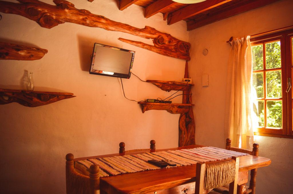 Cabaña 5 personas - Interiores