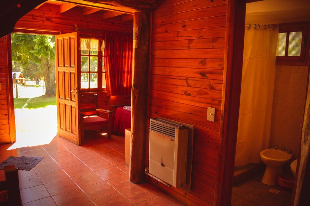 Cabaña 6 personas - Interiores